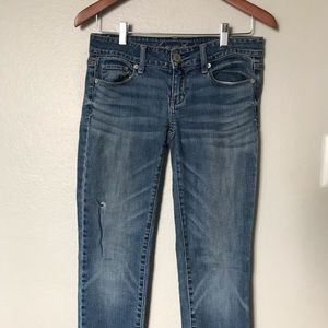 American Eagle Stretch Skinny Size 0 Jeans